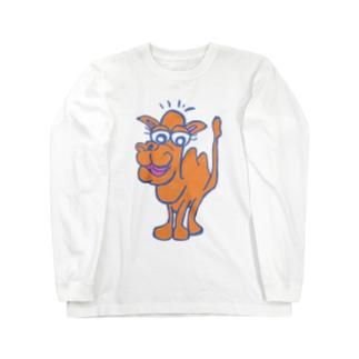 ラクダ Long sleeve T-shirts