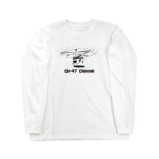 CH-47 Chinook Long sleeve T-shirts
