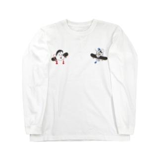 Otafuku and Hannya Long sleeve T-shirts