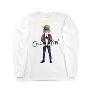CHINPIRA(PK) Long sleeve T-shirts