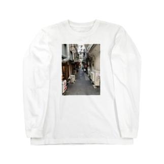 大井町 Long sleeve T-shirts