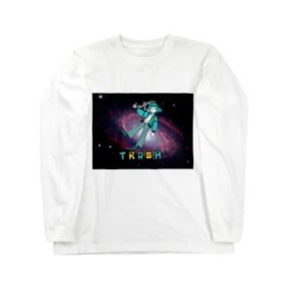 TRASH Long sleeve T-shirts