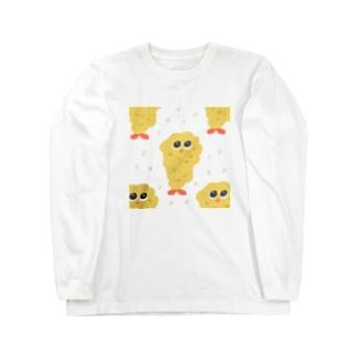 エビフライくん Long sleeve T-shirts