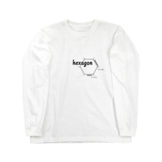 Hexagon Long sleeve T-shirts