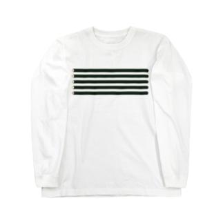 お寿司・巻物 Long sleeve T-shirts