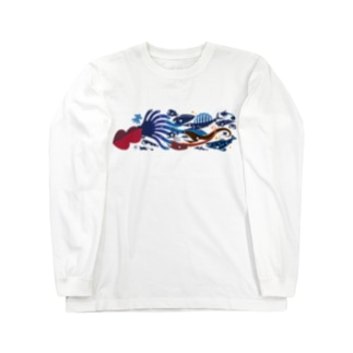 深海魚B Long sleeve T-shirts
