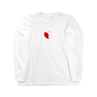 ぶれいきんはーと Long sleeve T-shirts