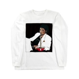 凪地獄ジャクソン Long sleeve T-shirts