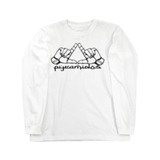 ピラミッドスグッズ Long sleeve T-shirts