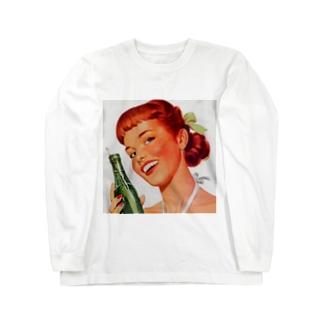 Soda Pop ビンテージ Long sleeve T-shirts