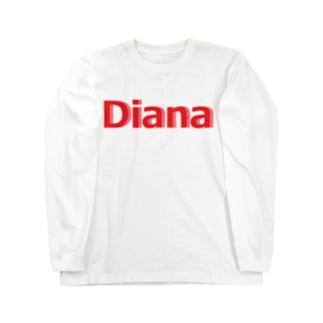 ダイアナ グッズ Long sleeve T-shirts