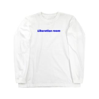 Liberation room logo Long sleeve T-shirts
