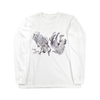 Griffin & Hippogriff Long sleeve T-shirts