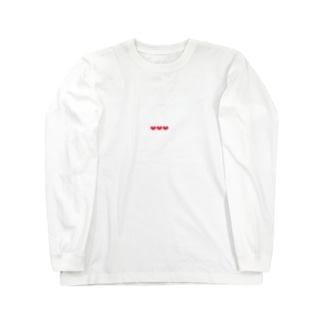 three heart Long sleeve T-shirts