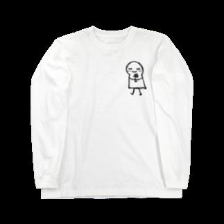 古春一生(Koharu Issey)のあなたが えがおに なれますように。(♡なし) Long sleeve T-shirts