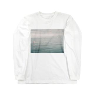 シンプルに海 Long sleeve T-shirts