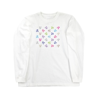 PANDA LAUREN Long sleeve T-shirts