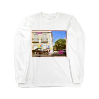ポルトガル:リシュボアの風景 Portugal: Lisboa / Lisbon Long sleeve T-shirts