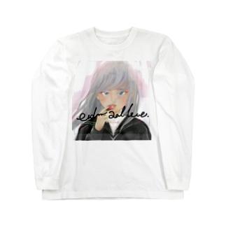 尊重と愛情 Long sleeve T-shirts