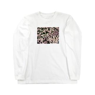 春色のマーガレット Long sleeve T-shirts