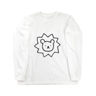 machi_3のたんぽぽぐみのライオン Long sleeve T-shirts