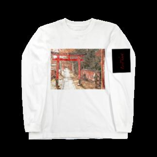 Lost'knotの祇園ノ街デ遊ブ幼女 Long sleeve T-shirts
