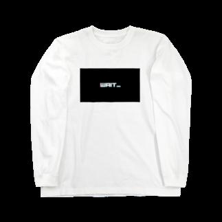 NecjiのWait... Long sleeve T-shirts