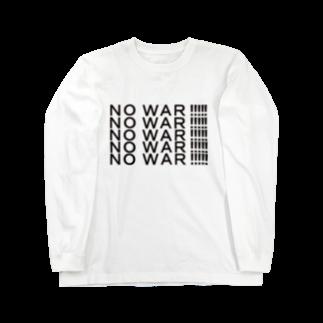 ヒラエイのNOWAR Long sleeve T-shirts