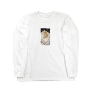 いか Long sleeve T-shirts