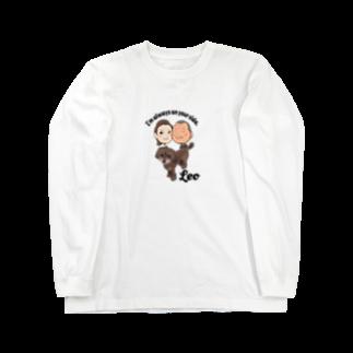 昭広 中里のLeo Long sleeve T-shirts