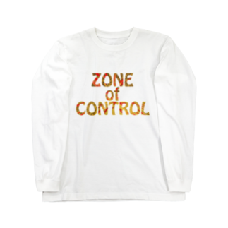 BE UPWARDのZONE OF CONTROL Long sleeve T-shirts