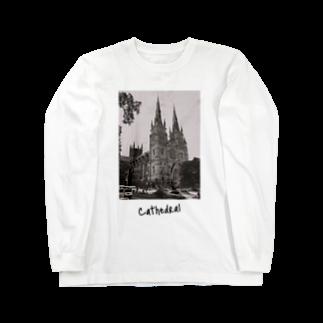 TOKYO UPROAR WORKSHOPのCathedral Long sleeve T-shirts