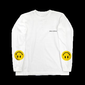 !?のSMILY PEOPLE Long sleeve T-shirts