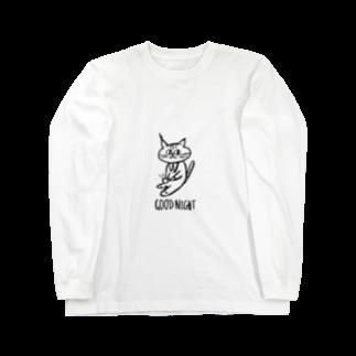 gnpの珈琲にうるさい猫 Long sleeve T-shirts