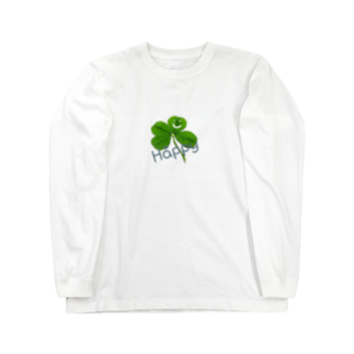 Rocksinkoのよつば様Happy撒き散らし Long sleeve T-shirts