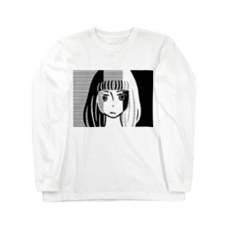 三重人格ちゃん Long sleeve T-shirts
