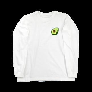mumilistのアボカドット Long sleeve T-shirts
