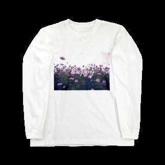 bananamiの写真プリントT Long sleeve T-shirts