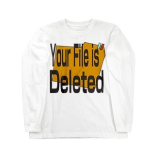 ファイルは消えました Long sleeve T-shirts