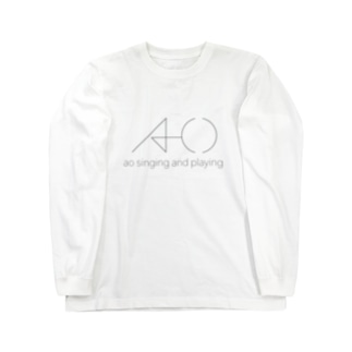 ao singing and playing Long sleeve T-shirts