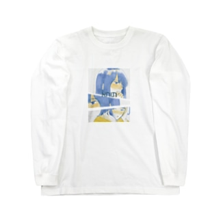 ヘブライ語ガール2 Long sleeve T-shirts