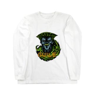 KKP72のゾンビガイル Long sleeve T-shirts