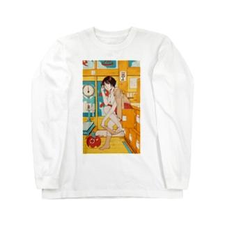 銭湯ガール スウェット Long sleeve T-shirts