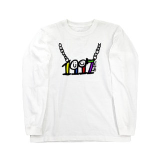 min.の1997年生まれ Long sleeve T-shirts
