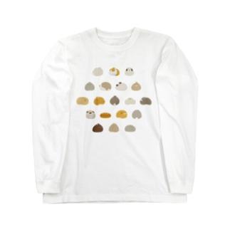 つけもの石のふり Long sleeve T-shirts