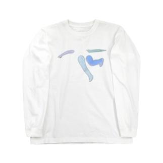 浮遊 Long sleeve T-shirts