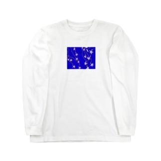 キレイなお星様 Long sleeve T-shirts