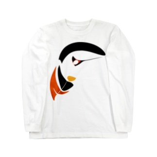 PB.DesignsのAtlantic Puffin Long sleeve T-shirts