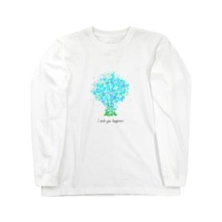 ブルースター Long sleeve T-shirts
