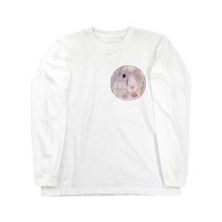 「おやつをください」 Long sleeve T-shirts
